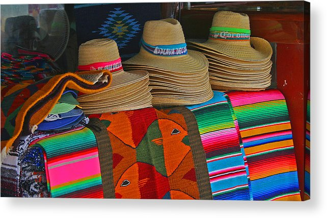 Colorful Acrylic Print featuring the photograph Mexican Hat Dance by Gina Cormier