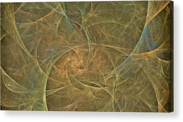 Acrylic Print featuring the digital art Natural Forces- Digital Wall Art by Doug Morgan