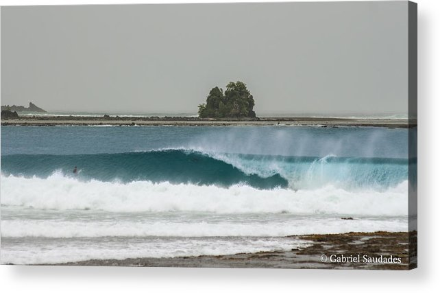 Acrylic Print featuring the photograph Nias by Gabriel Saudades