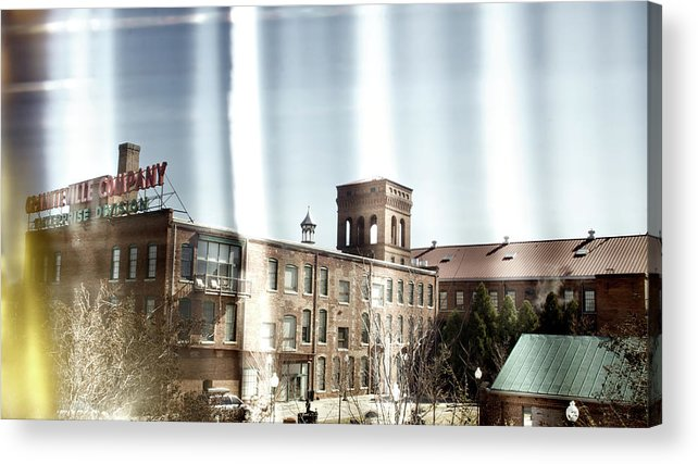 enterprise Mill Acrylic Print featuring the photograph Slit Scan 3 by Patrick Biestman