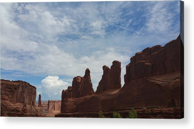 Utah Acrylic Print featuring the photograph The Beauty Of Utah Arches by Hughes Country Roads Photography