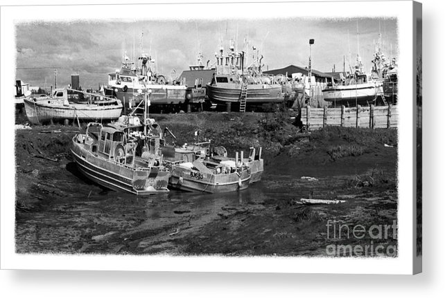 Alaska Acrylic Print featuring the photograph The Real Alaska - Caught At Low Tide by Pete Hellmann