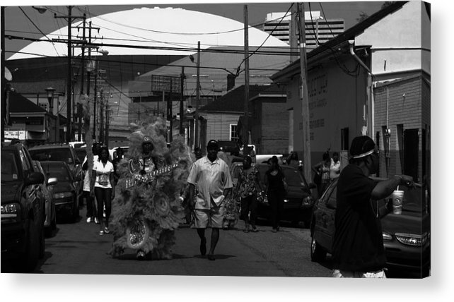 New Orleans Acrylic Print featuring the photograph The Superest Of Sundays by David Fields