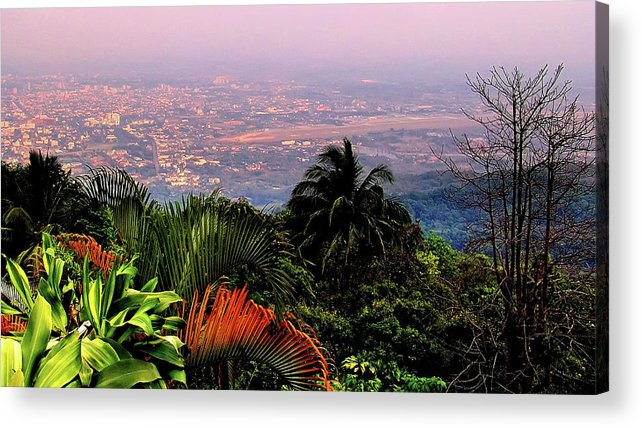Scenics Acrylic Print featuring the photograph Chiang Mai by Davidhuiphoto