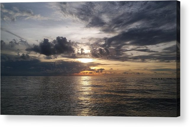 Sunset Acrylic Print featuring the photograph Sunset by Cora Jean Jugan