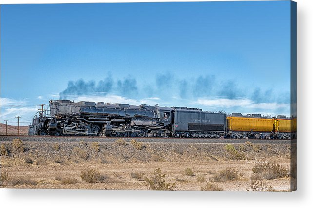 Big Boy Acrylic Print featuring the photograph Up4014big Boy 5 by Jim Thompson