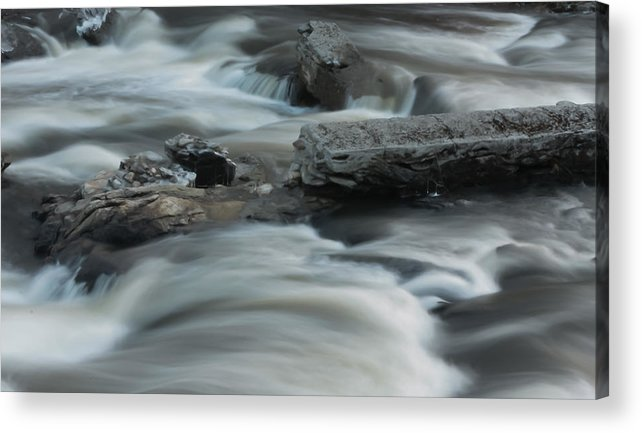 River Acrylic Print featuring the photograph Cold Enough by Jessica Lowell