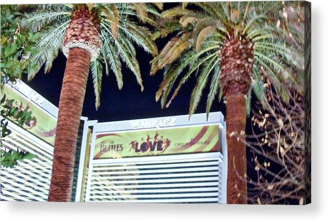 Las Vegas Acrylic Print featuring the photograph Iconic Vegas by Jennifer Boisvert