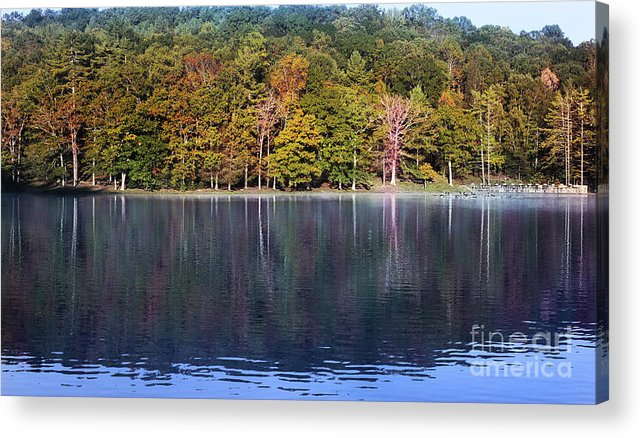 Lake Photograph Acrylic Print featuring the photograph Little Beaver Lake by Melissa Petrey