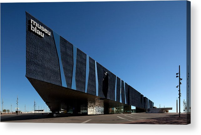 Photography Acrylic Print featuring the photograph Museu Blau De Les Ciencies Naturals by Panoramic Images