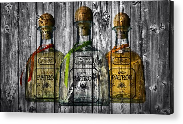 Patron Barn Door Acrylic Print featuring the photograph Patron Barn Door by Dan Sproul