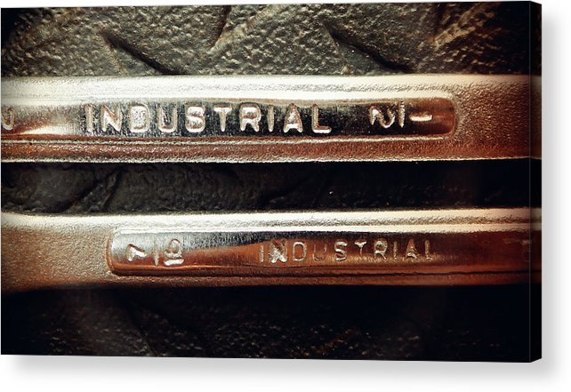 Hammer Acrylic Print featuring the photograph Wrench Handles by Laurie Tsemak