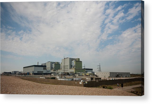 Boat Acrylic Print featuring the photograph Dungeness Power Station by Dawn OConnor