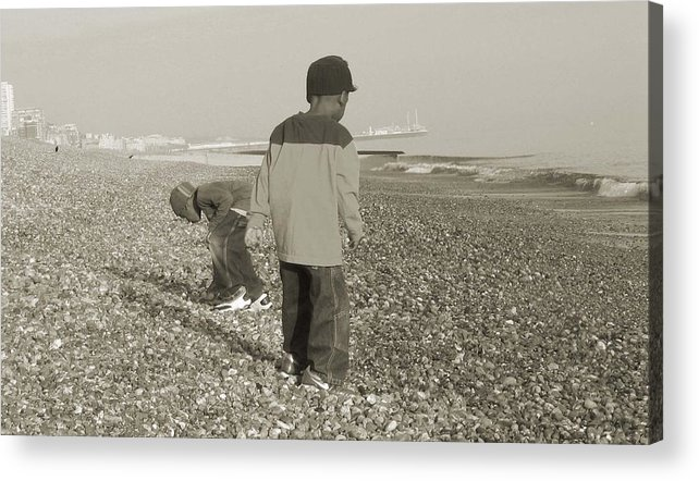 Picture Acrylic Print featuring the photograph Brighton by LeeAnn Alexander