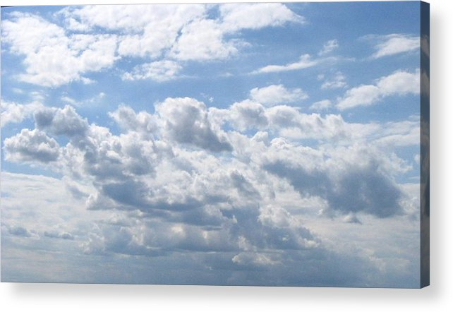Clouds Acrylic Print featuring the photograph Cloudy by Rhonda Barrett