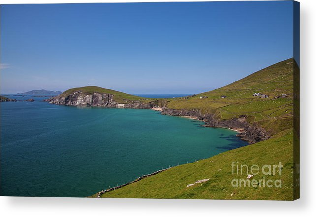 Kerry Coast Acrylic Print featuring the photograph Dunmore Head by Gabriela Insuratelu