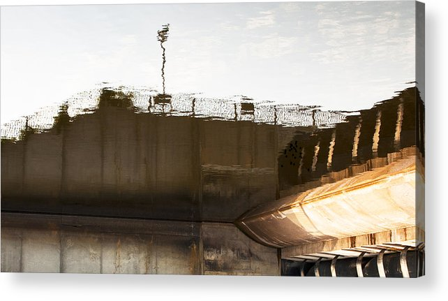 Acrylic Print featuring the photograph Hydro Dam Number Two by Michael Rutland