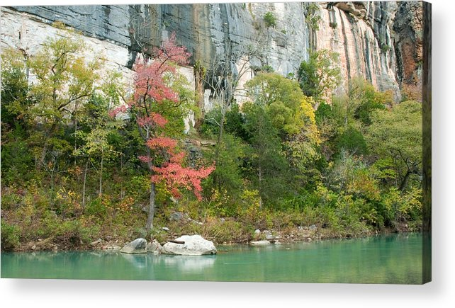 Landscape Acrylic Print featuring the photograph White River Arkansas by David Waldrop