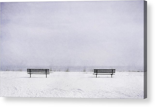 Landscape Photography Acrylic Print featuring the photograph Old Friends by Scott Norris
