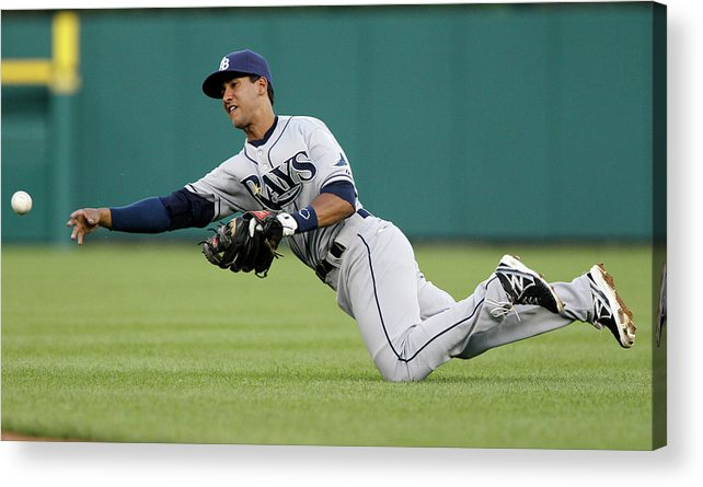 American League Baseball Acrylic Print featuring the photograph Tampa Bay Rays V Detroit Tigers 2 by Duane Burleson