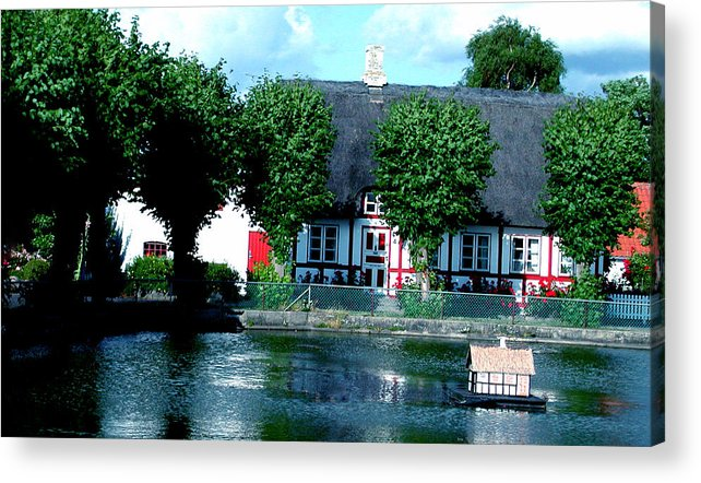 Colette Acrylic Print featuring the photograph Beauty On Samsoe Island Denmark  by Colette V Hera Guggenheim