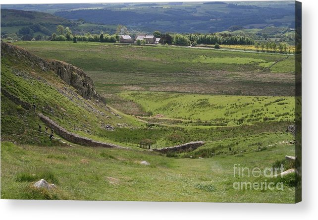 Nature Acrylic Print featuring the photograph Beautiful Scotland To Fall In Love With by Valia Bradshaw