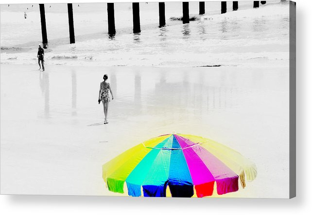 A Hot Summer Day Acrylic Print featuring the photograph A Hot Summer Day by Susanne Van Hulst