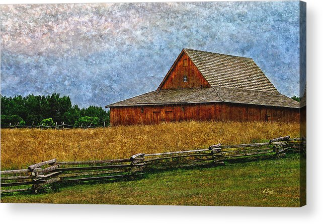 Summer Acrylic Print featuring the photograph Old Virginia by Gordon Beck