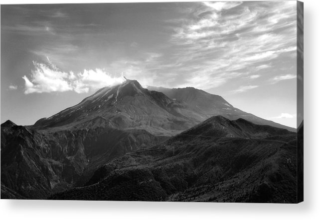 Landscape Acrylic Print featuring the photograph St. Helens by Ty Nichols