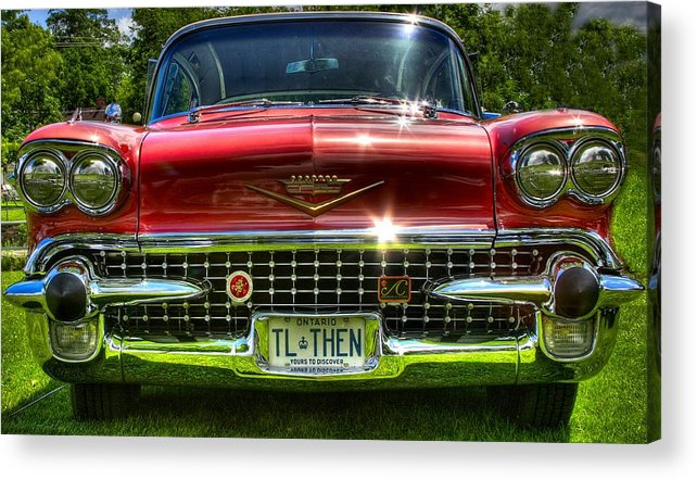 \'cadilac Acrylic Print featuring the photograph Tlthen by David Hubbs