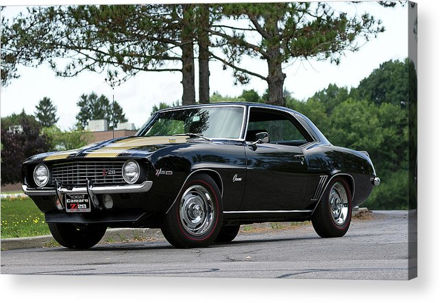 Chevrolet Acrylic Print featuring the photograph Camaro Z28 by Peter Chilelli