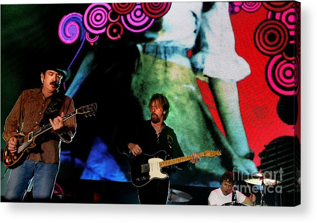 Brooks_and_dunn_concert_photo Acrylic Print featuring the photograph Brooks And Dunn by Bruce Crummy