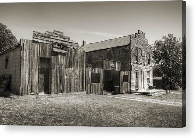 Ingalls Acrylic Print featuring the photograph Old Ingalls II by Ricky Barnard