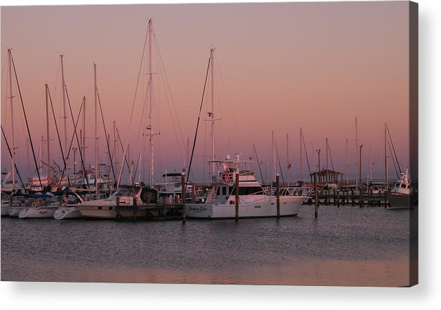 Harbor Acrylic Print featuring the photograph Safe Harbor by Brian Wright