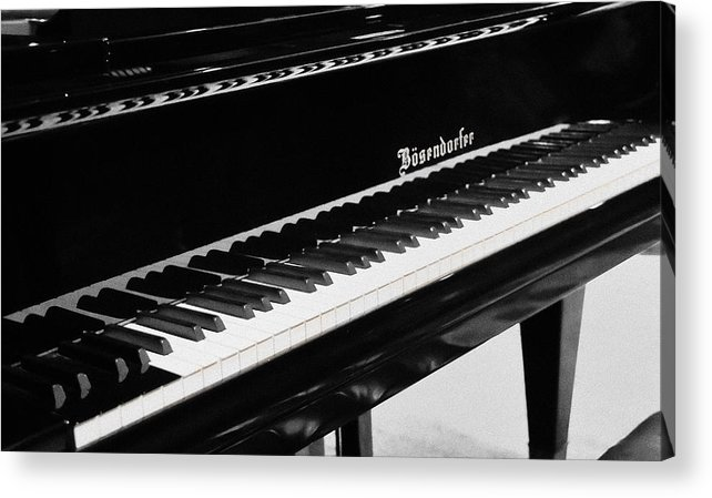 Piano Acrylic Print featuring the photograph Bosfndorfer Piano by Patricia Stalter