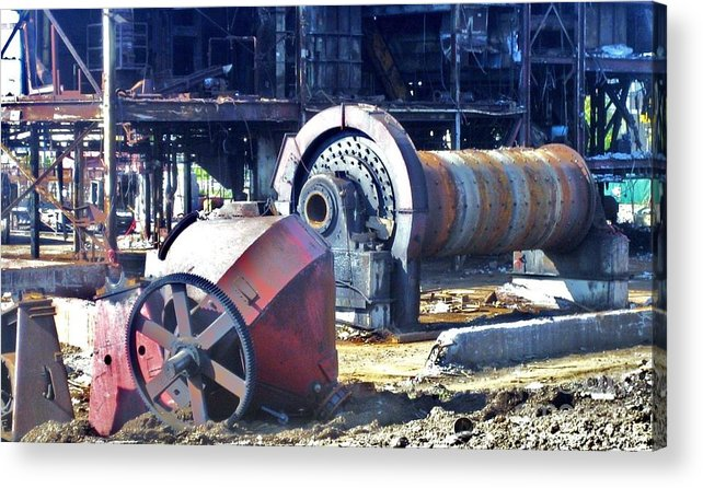 Photography Acrylic Print featuring the photograph Domfer Deconstruction 2 by Reb Frost