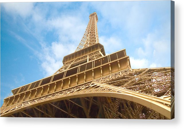 Eiffel Tower Acrylic Print featuring the photograph Eiffel Tower by Mick Burkey