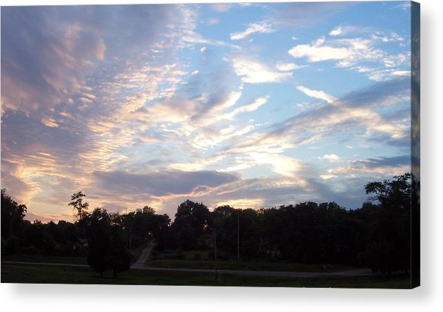 Skyscape Acrylic Print featuring the print Southern Sky by Beverly Baxter
