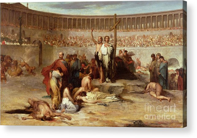 roman persecutions of christians Many were martyred during the roman persecutions of catholics martyr is  actually a greek word for witness these faithful christians tried to avoid  persecution,.