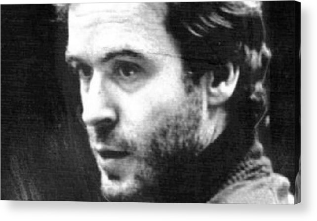 Ted Bundy Acrylic Print featuring the photograph Ted Bundy Court by Eden OBrien