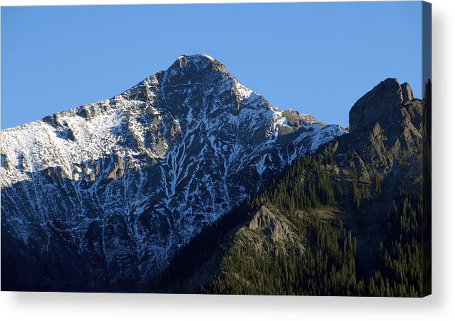Fine Art Photography Acrylic Print featuring the photograph First Snow by David Lee Thompson