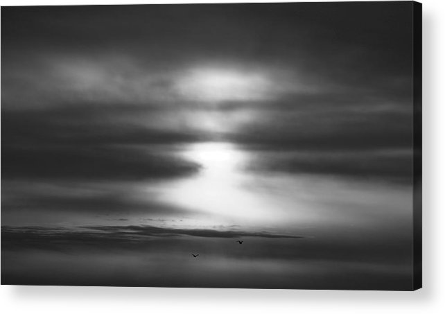 Sky Acrylic Print featuring the photograph 'light In Depth' by Adam M Dee