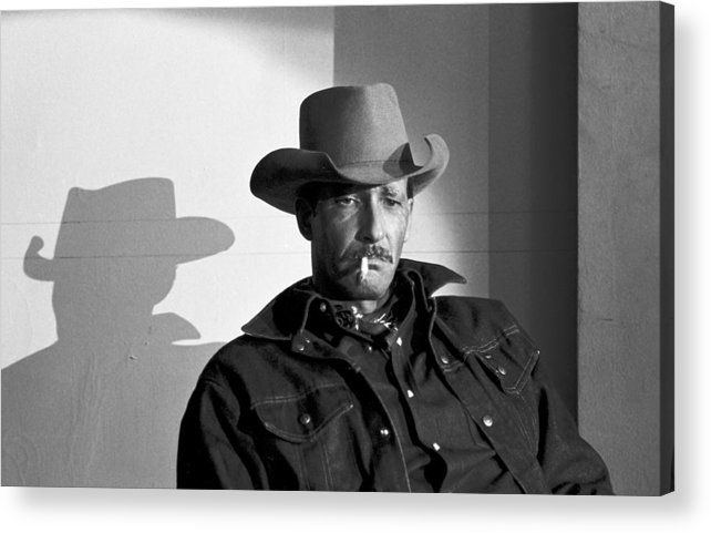Character Acrylic Print featuring the photograph 092308-1  Virge by Mike Davis