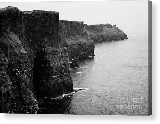 Ireland Acrylic Print featuring the photograph Cliffs Of Moher County Clare Ireland by Joe Fox