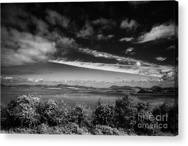 Ireland Acrylic Print featuring the photograph Clew Bay Near Westport County Mayo Republic Of Ireland by Joe Fox