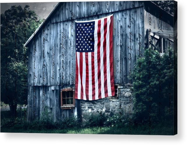 Old Acrylic Print featuring the photograph Pride by Expressive Landscapes Fine Art Photography by Thom