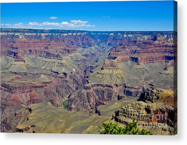 Grand Canyon Acrylic Print featuring the photograph Grand Canyon by Camille Lyver