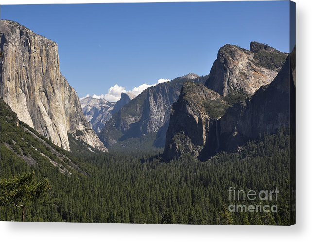 Calfornia Acrylic Print featuring the photograph Yosmite Valley by Camille Lyver