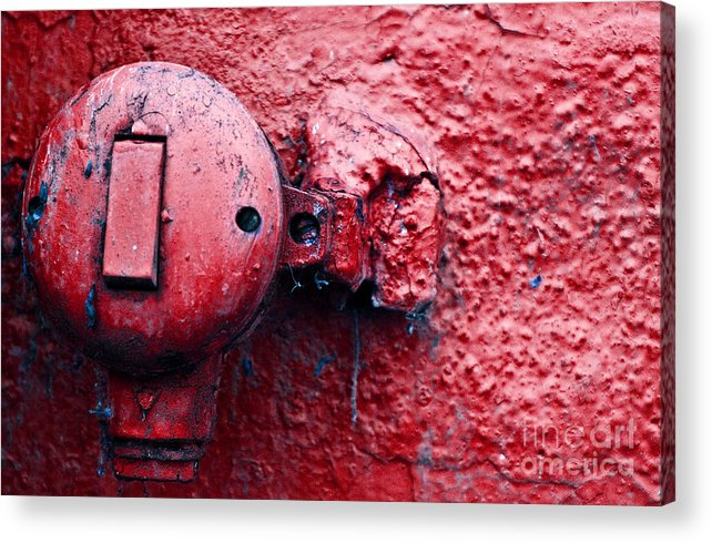 Wall Acrylic Print featuring the photograph Untitled by Vadim Grabbe