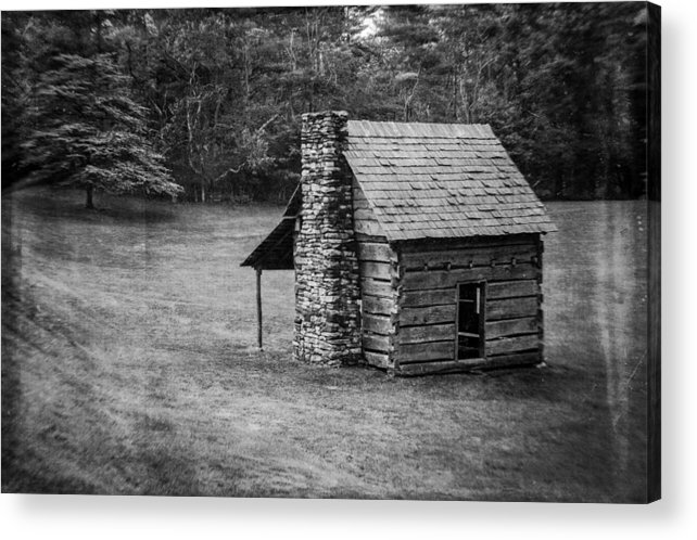 Landscape Acrylic Print featuring the photograph Cabin On The Blue Ridge Parkway - 5 by Joye Ardyn Durham